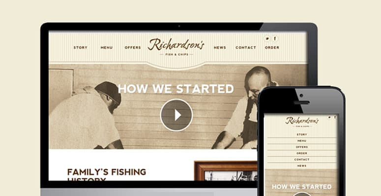Richardson's Fish and Chips have found a new home – online!