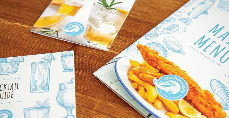Wigmore menus