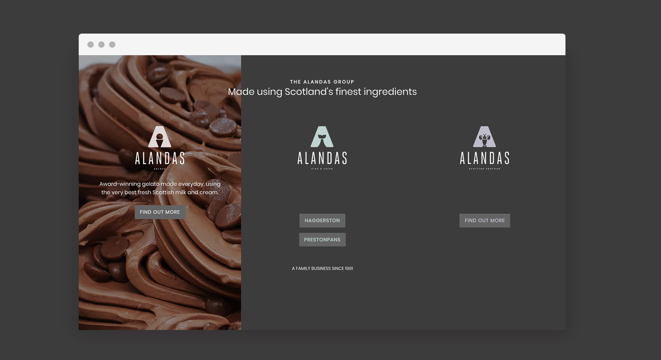 View more on our Eat Marketing case study on Alandas.
