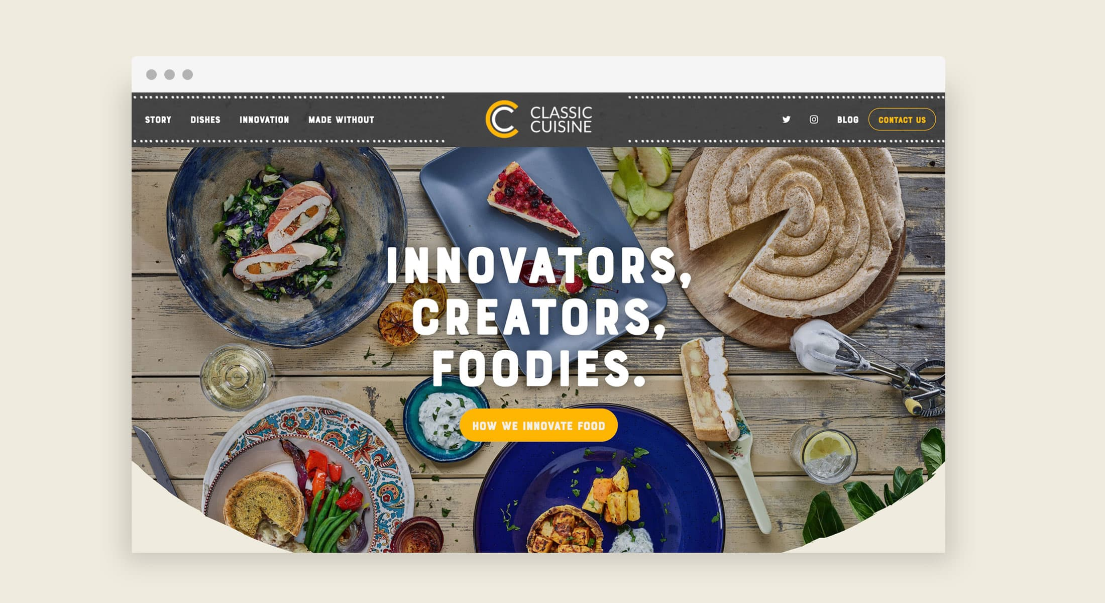 View our Eat Marketing case study on Classic Cuisine.