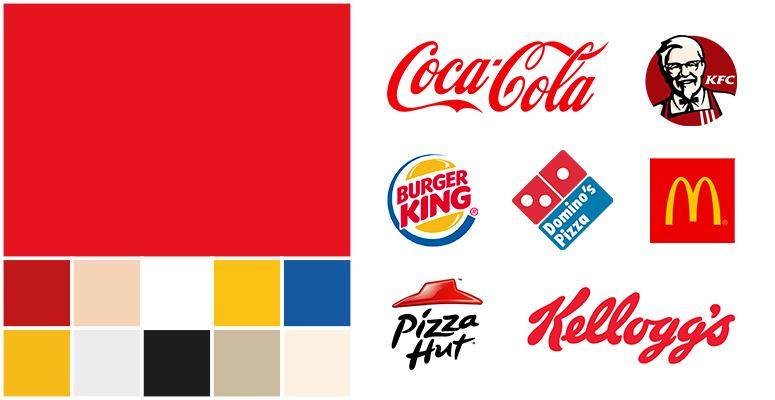red logo design food service