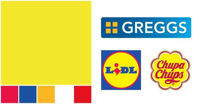 yellow logo designs food business