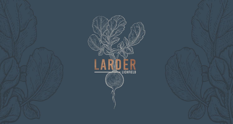 larder lichfield website design