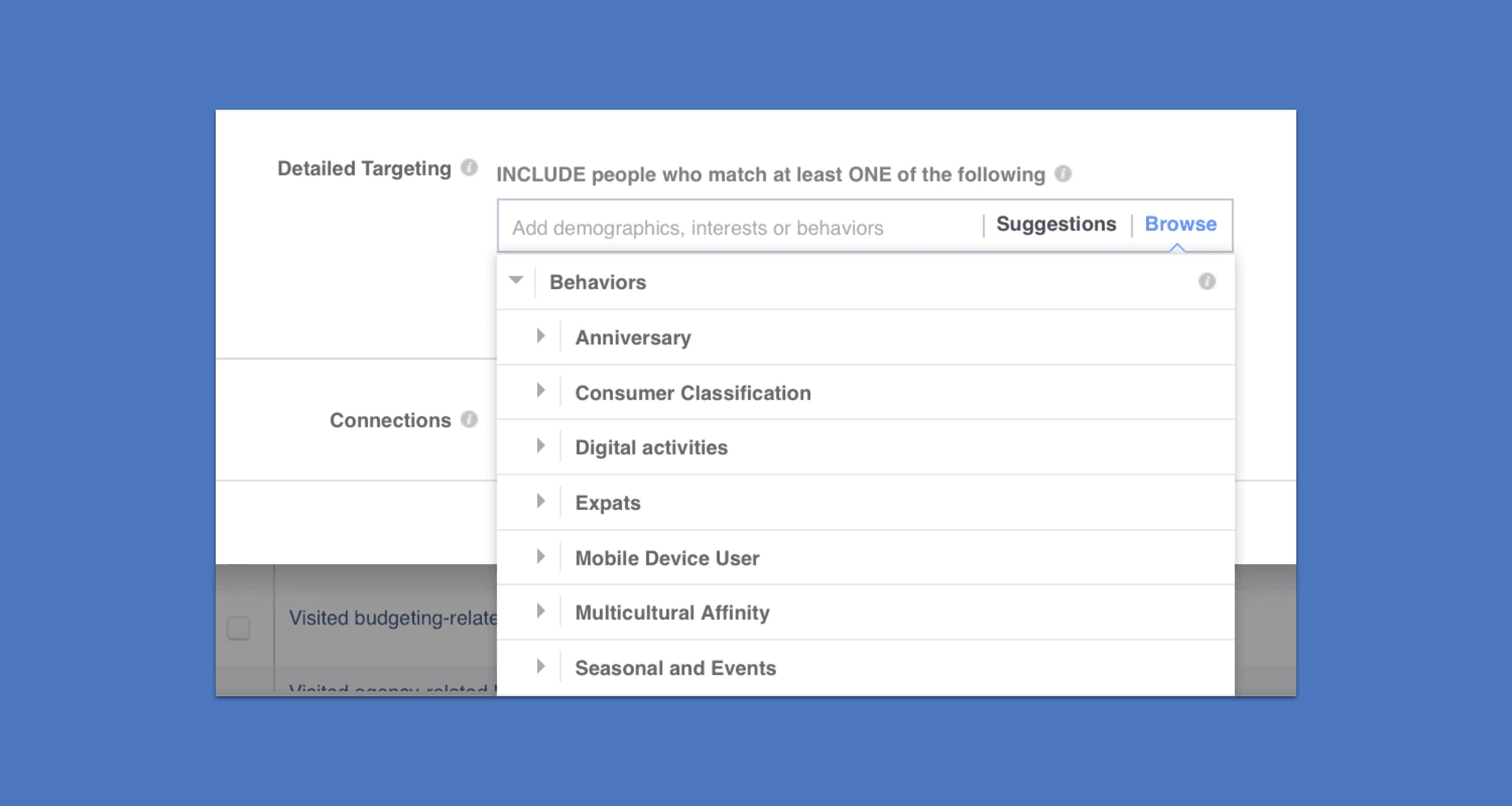 targeting with social advertising