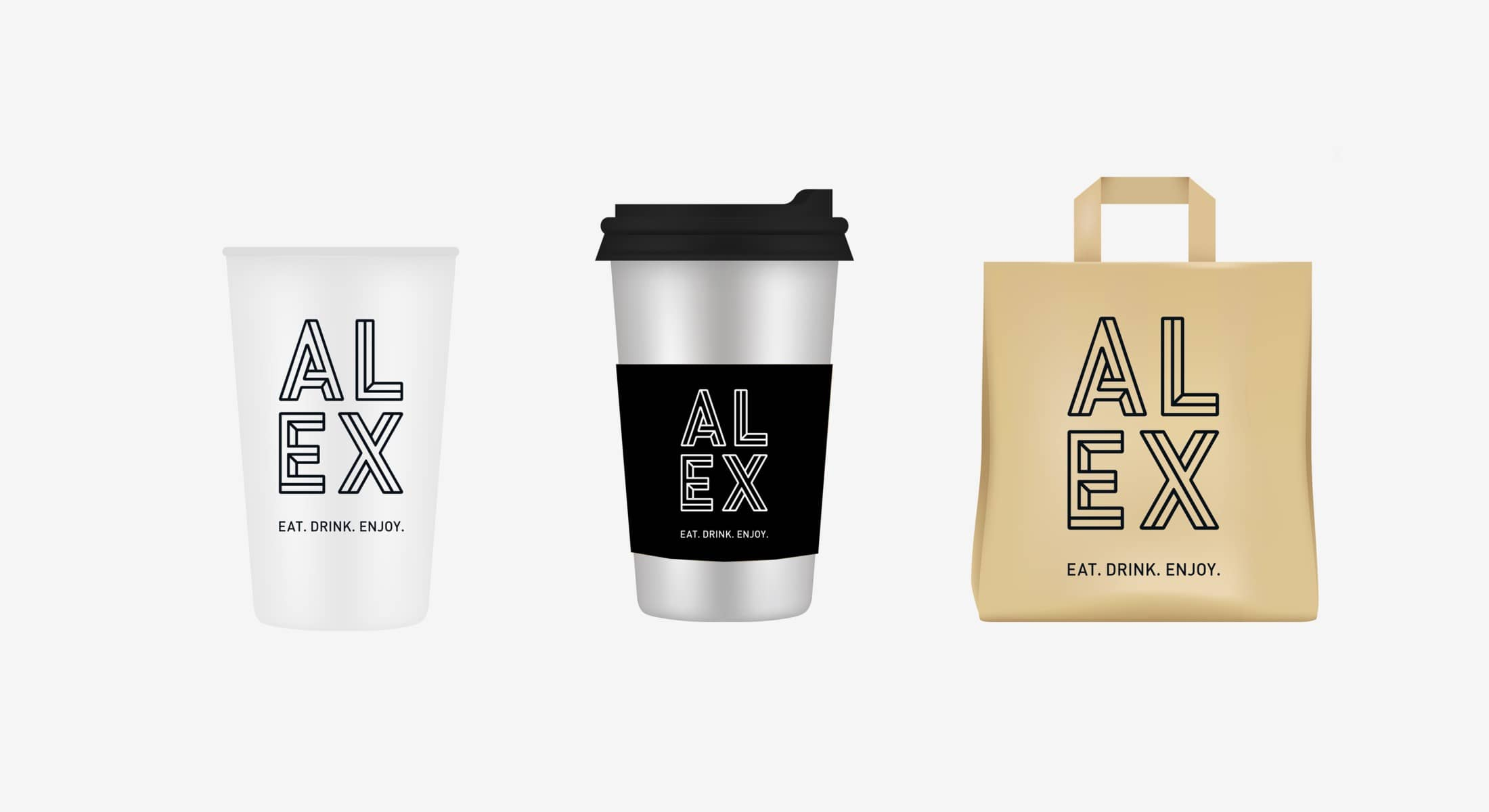 creative branding for Alex