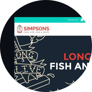 simpsons fish and chips website