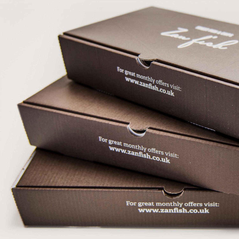 zan fish food packaging